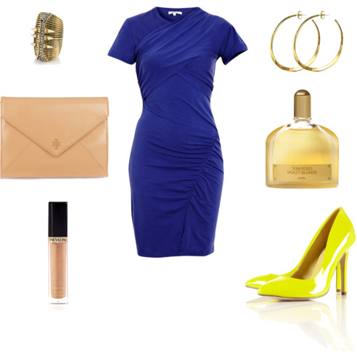 Fashion Minders: Royal Blue and Yellow: Dare to Wear!
