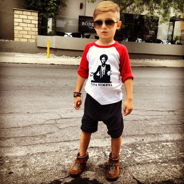 Kid Haircuts With Outfit: 4 Year Old Trendsetter: Alonso Mateo » JOY LOVES FASHION