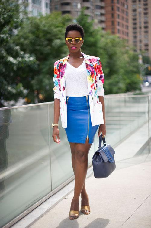 Joy Adaeze X Elle South Africa 20 Best Nyfw Street Style Snaps Joy Loves Fashion